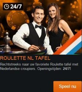 Nederlands live roulette kroon